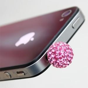 スマートフォンピアス ミラーボール スマピ iPhoneアクセサリー イヤフォン スマホピアス iPhone7 iPhone6s iPhone SE Galaxy Xperia iPad ネコポス vaniastore
