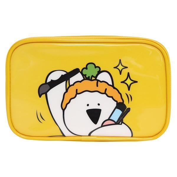 すこぶる動くウサギ OverActionRabbit ポーチ かわいい エナメル 合成皮革 化粧ポーチ レディース  プレゼント 正規品 宅急便|vaniastore|03