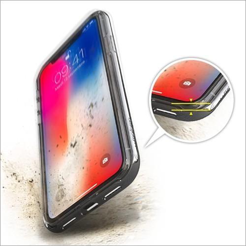 iPhone X / Xs / iPhone XR / iPhone Xs Max クリアケース ACHROME SHIELD Premium スマホケース アイフォン カバー バンパー  ネコポス無料|vaniastore|05