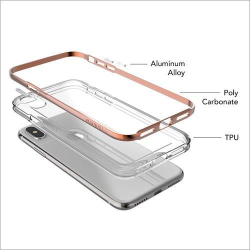 iPhone X / Xs / iPhone XR / iPhone Xs Max クリアケース ACHROME SHIELD Premium スマホケース アイフォン カバー バンパー  ネコポス無料|vaniastore|06