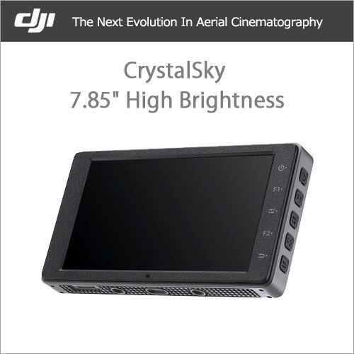 DJI CrystalSky 7.85インチ(高輝度モニター) DJI正規代理店 宅配便
