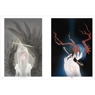 水溜鳥 画集『まどろみの夢と光の箱庭』|vanilla-gallery|07