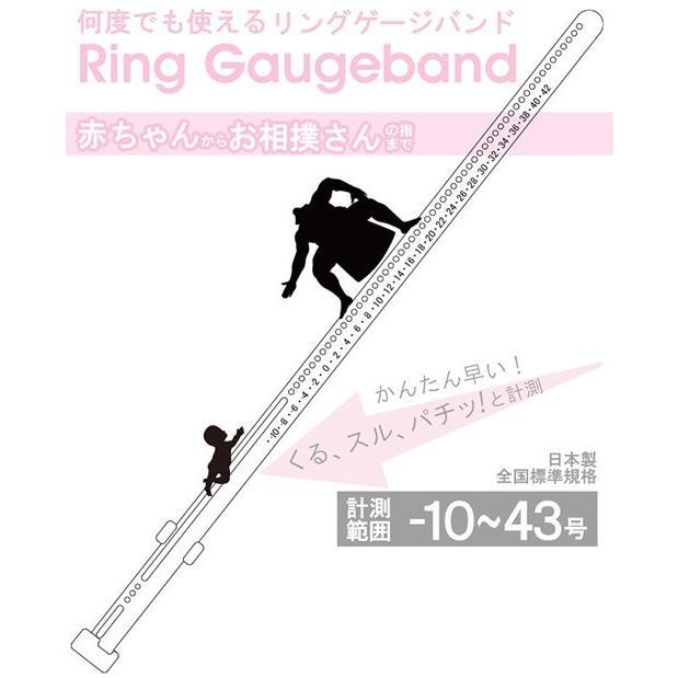 指のサイズ計測用(指輪用) リングゲージバンド 計測範囲-10~43号 (日本製) vanmore 06
