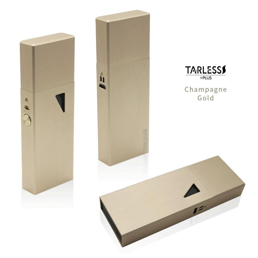 低温加熱式タバコ スターターキット たばこカプセル対応 TARLESS PLUS ターレスプラス リキッド2本付き ベプログ vapecollection 07