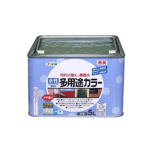 水性多用途カラー アイボリー 5L〔代引不可〕