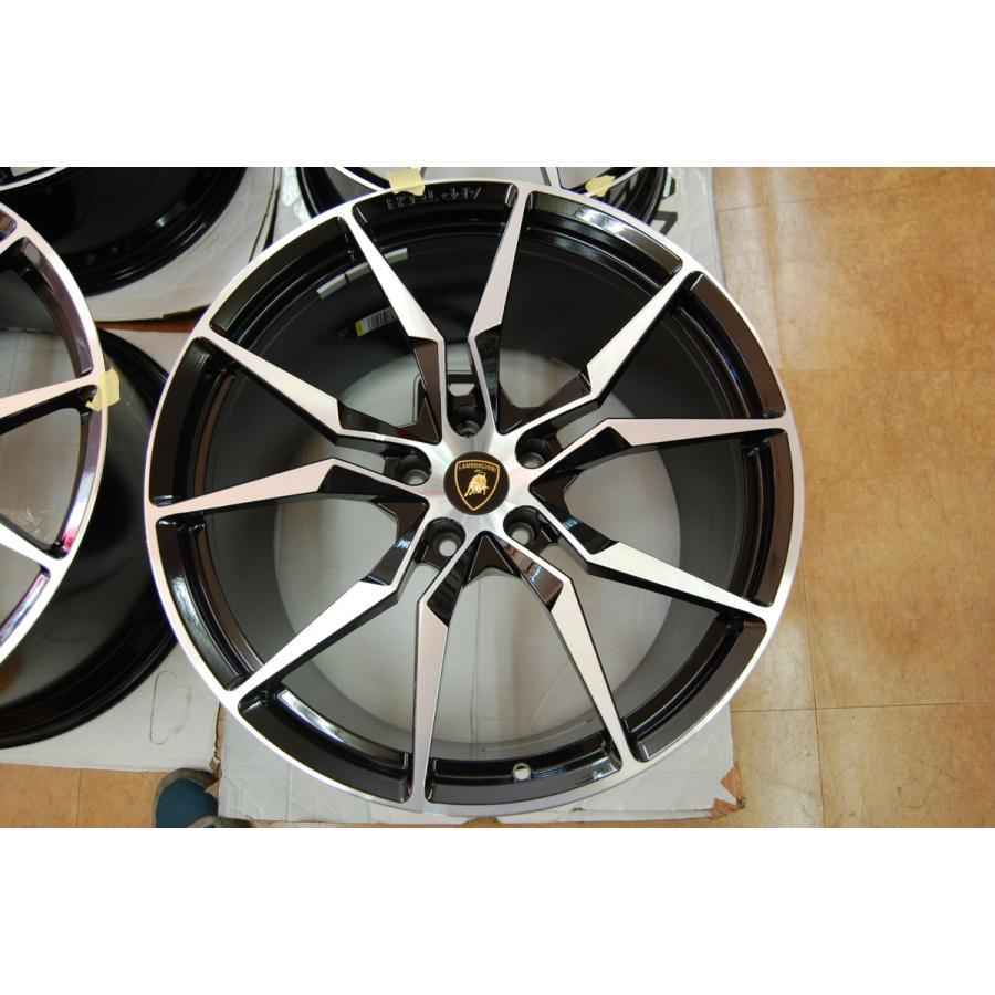 中古 ランボルギーニ アヴェンタドール S ロードスター 純正 オプション アルミ ホイール 4本 セット 20インチ 21インチ 即納|ve1|04