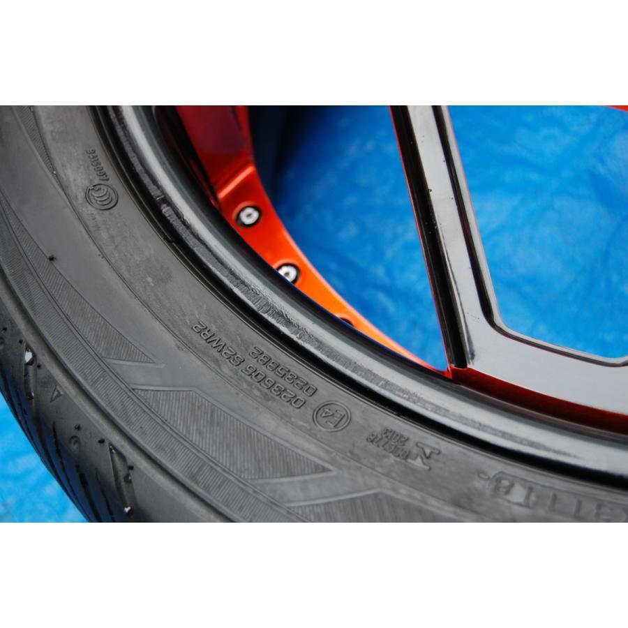 中古 VELLANO VJK 22インチ アルミホイール 4本 セット タイヤ 付き ヨコハマ PARADA Spec-x 305/40/22 ベラーノ TOYOTA ランドクルーザー ve1 08