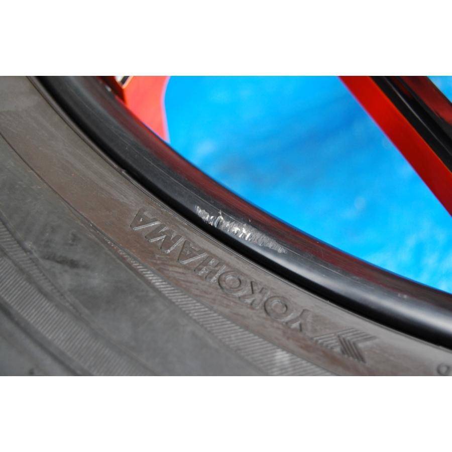 中古 VELLANO VJK 22インチ アルミホイール 4本 セット タイヤ 付き ヨコハマ PARADA Spec-x 305/40/22 ベラーノ TOYOTA ランドクルーザー ve1 09
