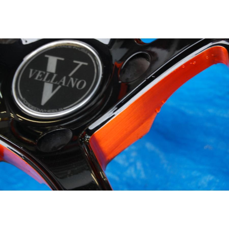 中古 VELLANO VJK 22インチ アルミホイール 4本 セット タイヤ 付き ヨコハマ PARADA Spec-x 305/40/22 ベラーノ TOYOTA ランドクルーザー ve1 10