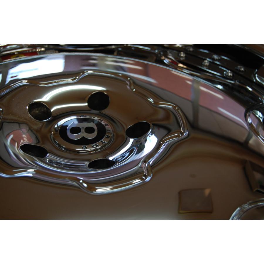 中古 フォージアート フィオレ FORGIATO FIOREホイール 24インチ 4本セット タイヤ 付き ベントレー ミュルザンヌ アルミ|ve1|02