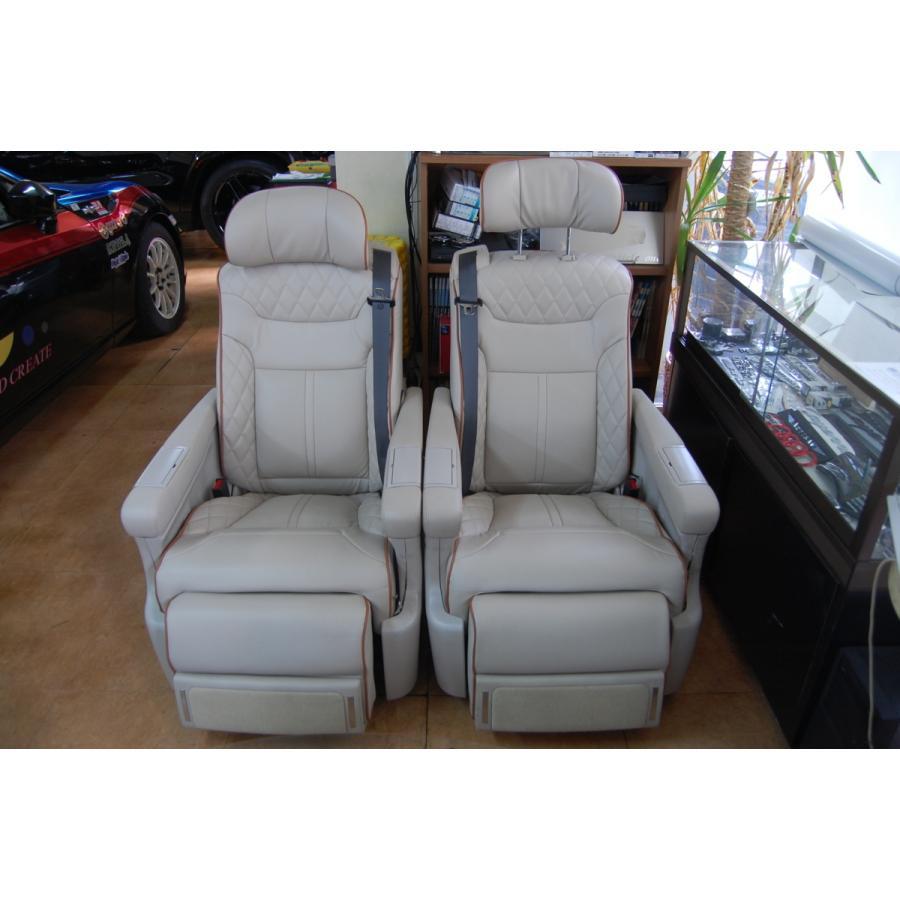W447/Vクラス   電動 キャプテンシート メルセデス ベンツ Mercedes Benz Vクラス リクライニング シート V220 d 加工 取付け  中古|ve1
