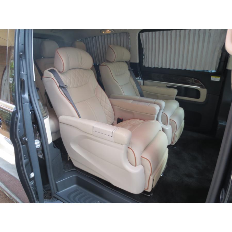 W447/Vクラス   電動 キャプテンシート メルセデス ベンツ Mercedes Benz Vクラス リクライニング シート V220 d 加工 取付け  中古|ve1|08