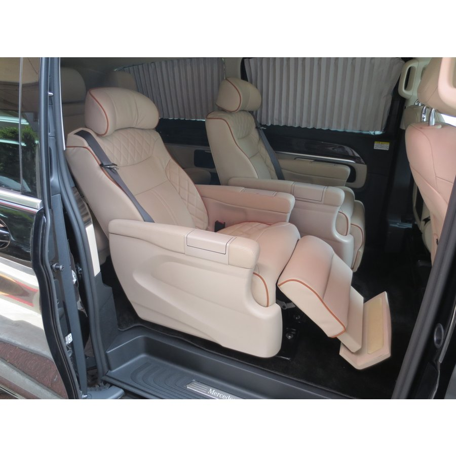 W447/Vクラス   電動 キャプテンシート メルセデス ベンツ Mercedes Benz Vクラス リクライニング シート V220 d 加工 取付け  中古|ve1|09