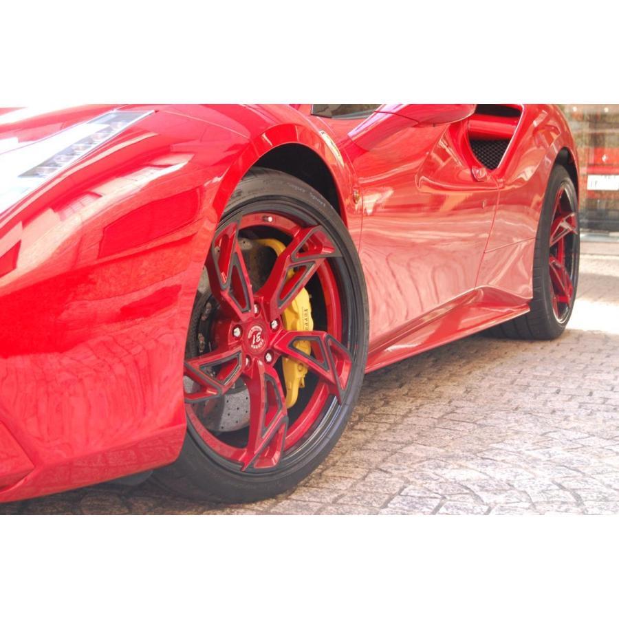 中古 D2 FORGED WHEEL OS-26 20インチ 4本 フェラーリ 488 458 イタリア フォージド アルミ ホイール Ferrari F488 italia|ve1|08