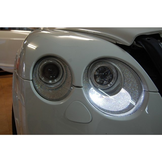 売切!! スワロフスキー加工済 純正ヘッドライト ベントレー コンチネンタルGT/GTC フライングスパー フラスパ HID LEDポジション バルブ|ve1|09