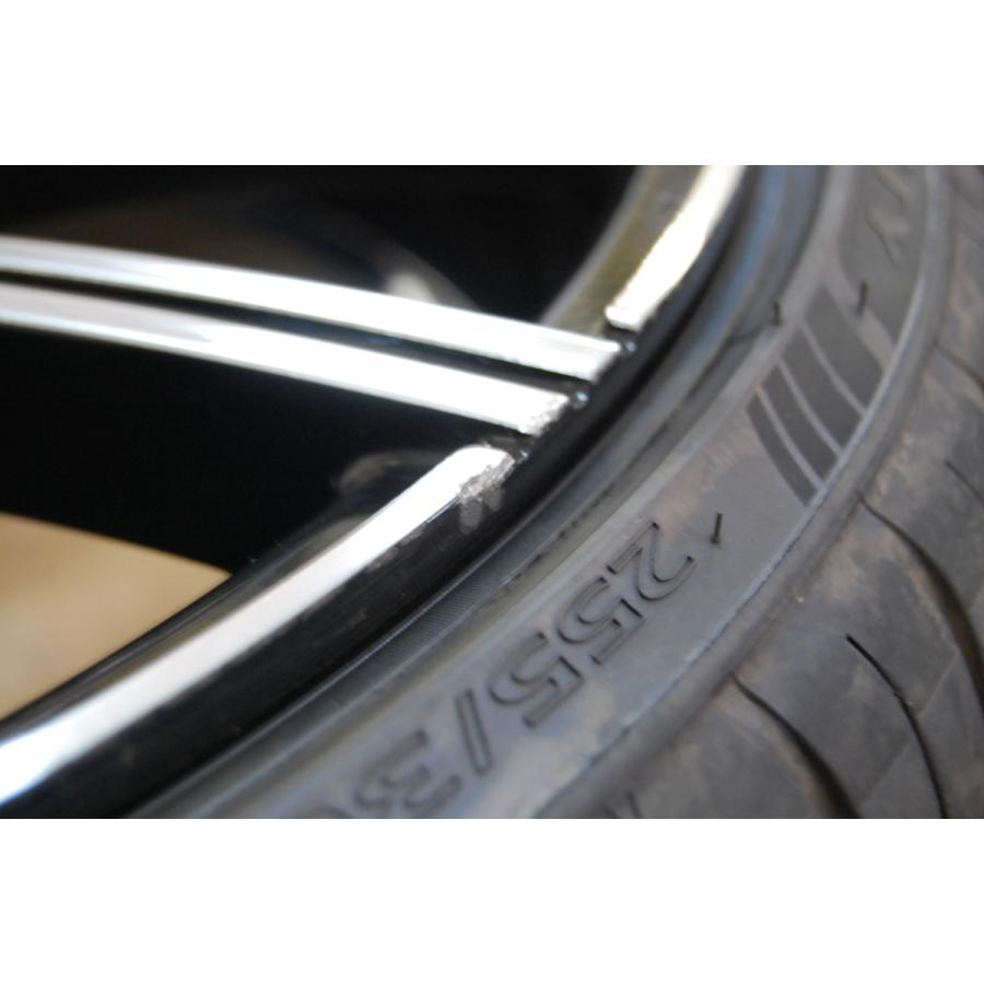 中古 レクサーニ 22インチ ホイール タイヤ セット 4本 マセラティ グランカブリオ LEXANI GRAVITY 9J 10J 114.3 ve1 08