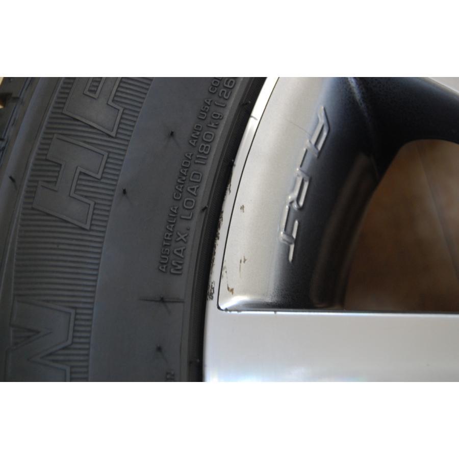中古 ART 20インチ アルミホイール 4本 セット タイヤ 付き NEXEN ROADIAN HP 295/45/20 5/130 10J ET60 メルセデス ベンツ W463 Gクラス ve1 10