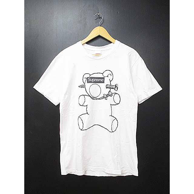 Supreme * UNDER COVER 15 SS Bear Tee Bear T Shirt M White J34ezN