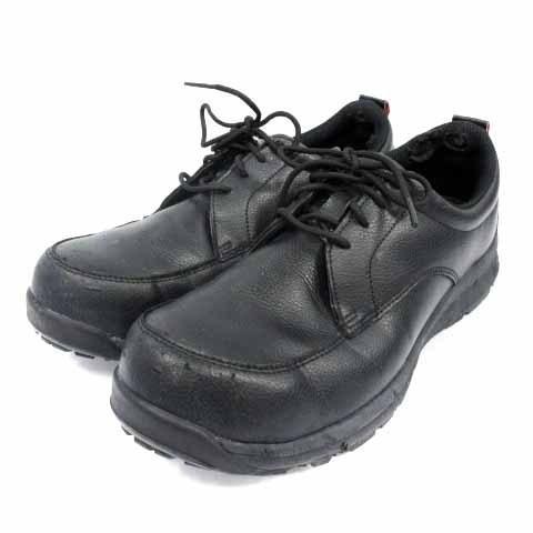 【中古】アシックス asics ウィンジョブ 安全靴 シューズ ワーキングシューズ スニーカー レザー 25cm 黒 ブラック CP502 /HZ35 メンズ 【ベクトル 古着】|vectorpremium|02