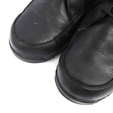【中古】アシックス asics ウィンジョブ 安全靴 シューズ ワーキングシューズ スニーカー レザー 25cm 黒 ブラック CP502 /HZ35 メンズ 【ベクトル 古着】|vectorpremium|05