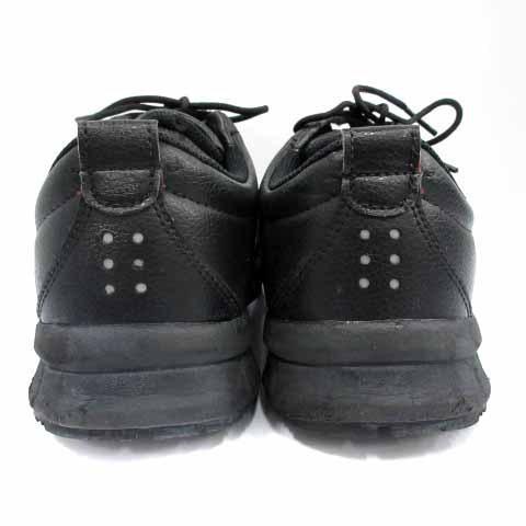【中古】アシックス asics ウィンジョブ 安全靴 シューズ ワーキングシューズ スニーカー レザー 25cm 黒 ブラック CP502 /HZ35 メンズ 【ベクトル 古着】|vectorpremium|06
