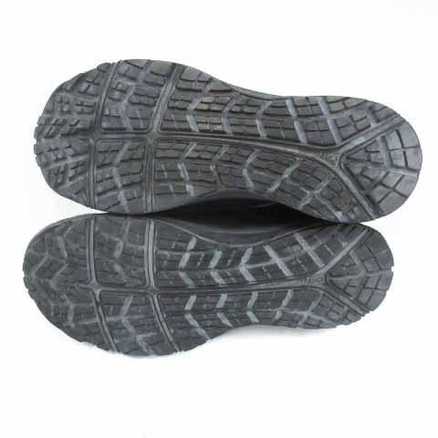 【中古】アシックス asics ウィンジョブ 安全靴 シューズ ワーキングシューズ スニーカー レザー 25cm 黒 ブラック CP502 /HZ35 メンズ 【ベクトル 古着】|vectorpremium|08