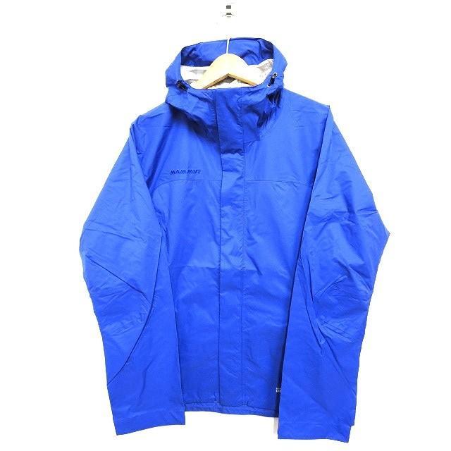 【中古】未使用 マムート MAMMUT MICROLAYER Jacket AF Men マイクロレイヤージャケット 青 M 1010-25332 アウトドア