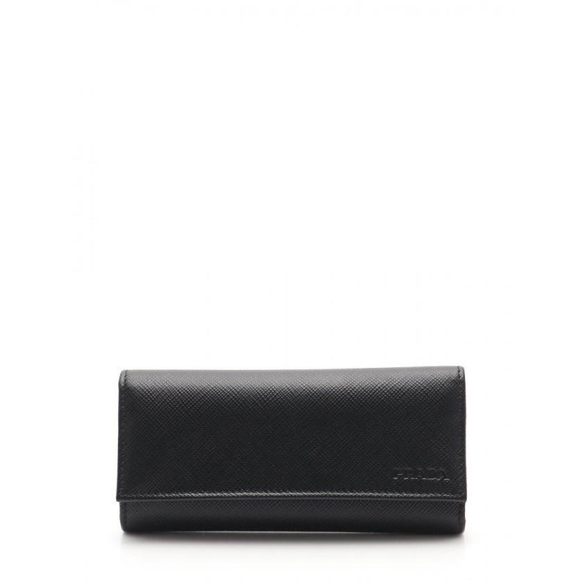 贅沢品 【】プラダ PRADA 4連キーケース 黒 小物 サフィアーノレザー 2PG001 SAFFIANO メンズ レディース 【ベクトル 古着】, GPORT 1de59115