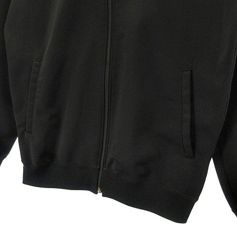 【中古】アシックス asics 美品 80's ヴィンテージ Recorder トラックジャケット ジャージ ジップアップ 日本製 ブラック 黒 イエロー 黄 レッド 赤 vectorpremium 06