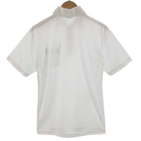 【中古】アシックス asics ポロシャツ 半袖 ロゴ刺繍 ホワイト 白 S メンズ 【ベクトル 古着】 vectorpremium 03