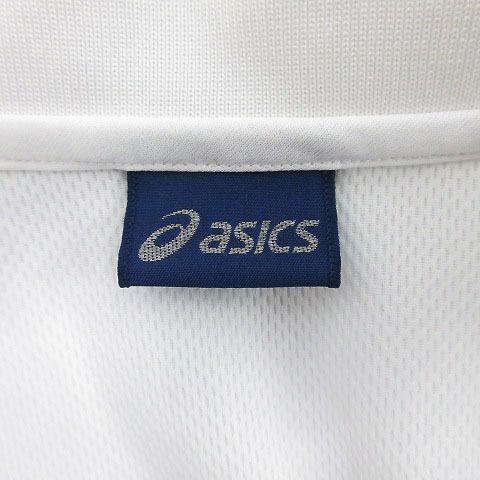 【中古】アシックス asics ポロシャツ 半袖 ロゴ刺繍 ホワイト 白 S メンズ 【ベクトル 古着】 vectorpremium 04