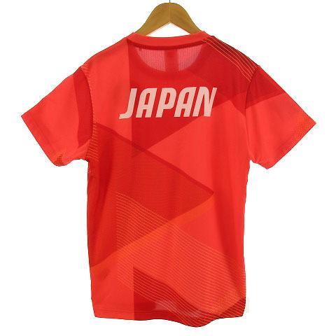 【中古】アシックス asics Tシャツ 半袖 丸首 総柄 オリンピック 2020 オレンジ M メンズ 【ベクトル 古着】|vectorpremium|05