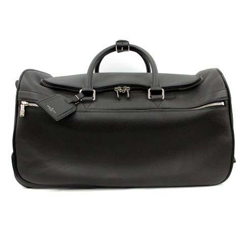 【中古】ルイヴィトン LOUIS VUITTON キャリーケース スーツケース ボストンバッグ タイガ エオール50 アルドワーズ 黒 M32610 メンズ 【ベクトル 古着】