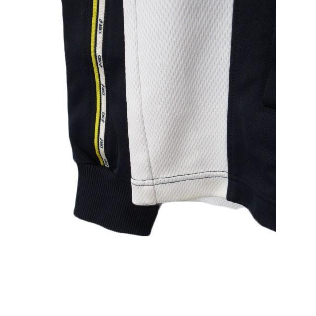 【中古】アシックス asics ジャムジーPSジャケット ジャージ トップ XAT150 L 紺 ネイビー メンズ 【ベクトル 古着】|vectorpremium|05