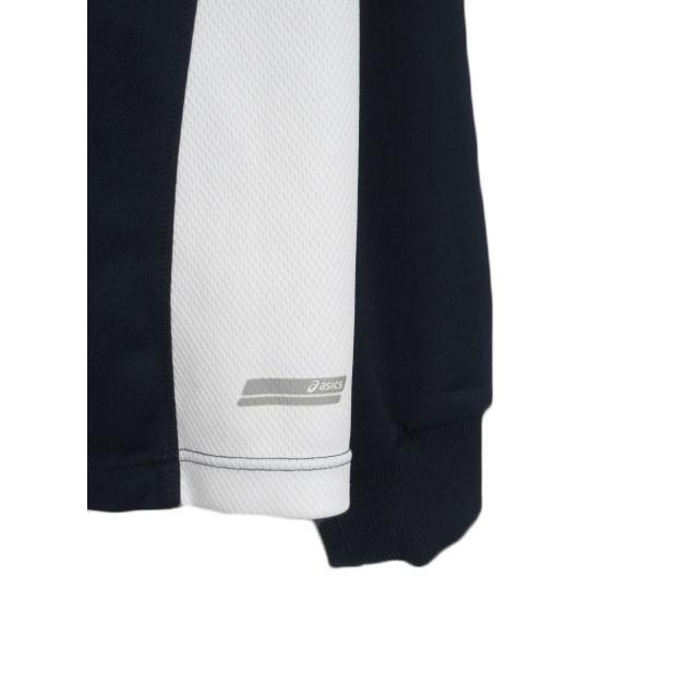 【中古】アシックス asics ジャムジーPSジャケット ジャージ トップ XAT150 L 紺 ネイビー メンズ 【ベクトル 古着】|vectorpremium|06