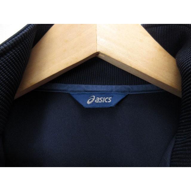 【中古】アシックス asics ジャムジーPSジャケット ジャージ トップ XAT150 L 紺 ネイビー メンズ 【ベクトル 古着】|vectorpremium|07