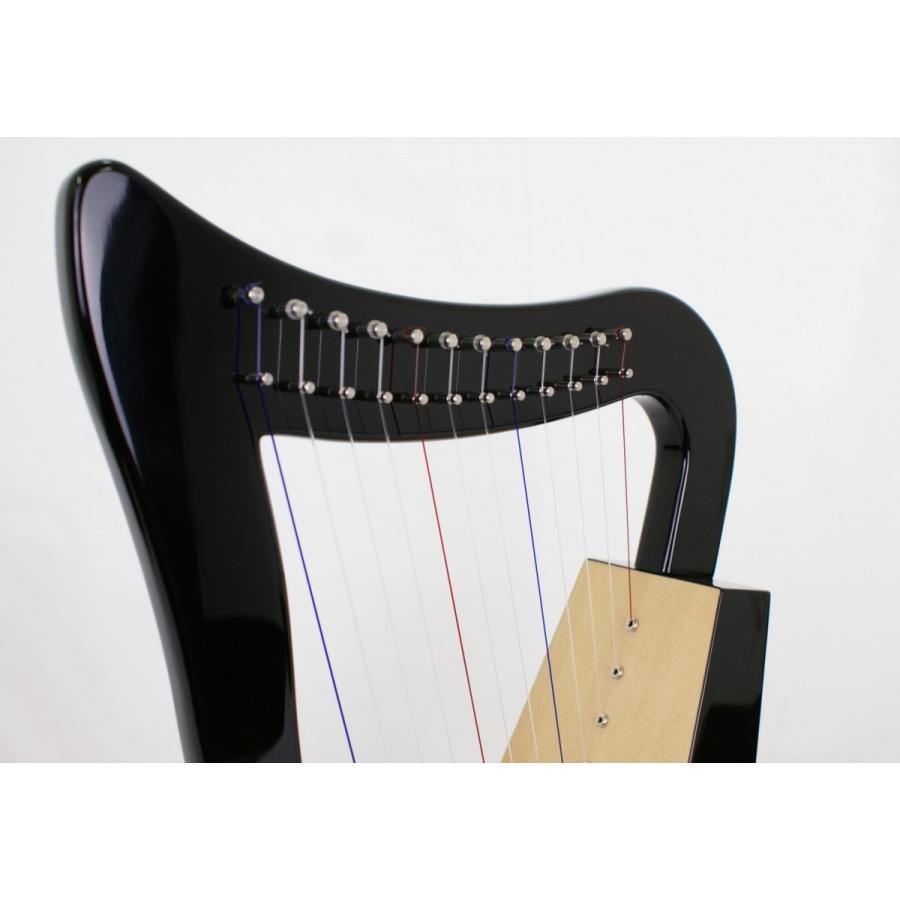 ベイビーハープ 〜令〜 【ストラップ付き】 12弦 ハープ vegamusic 03
