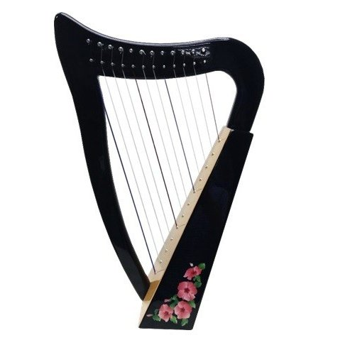ベイビーハープ 〜和桜〜 12弦 ハープ|vegamusic|06