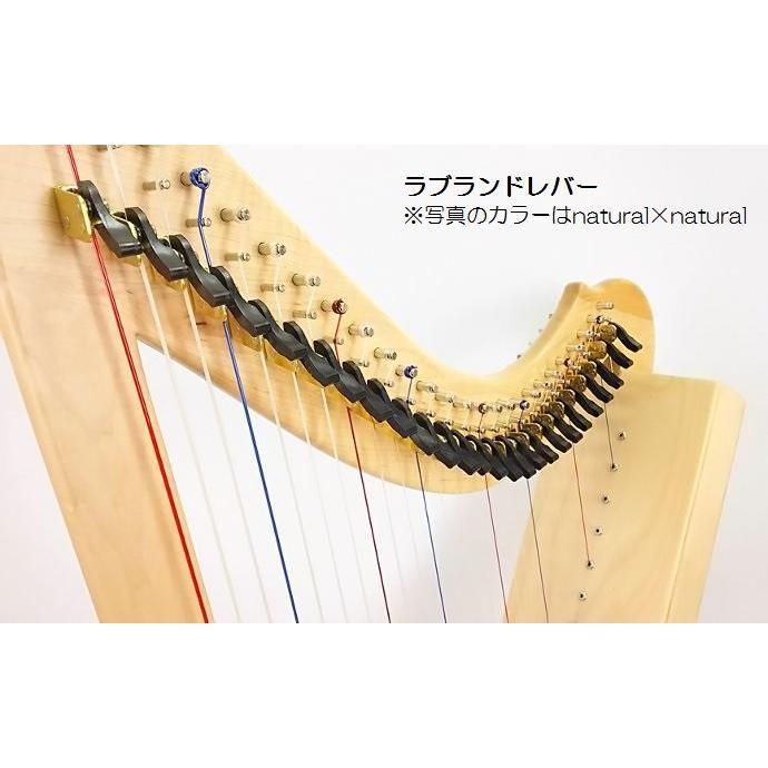 プレスト【ラブランドレバー】26弦 ハープ|vegamusic|03