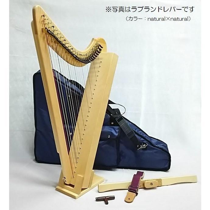プレスト【ラブランドレバー】26弦 ハープ|vegamusic|05