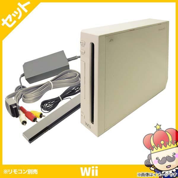 【ポイント5倍】Wii ウィー 本体 シロ 白 ニンテンドー 任天堂 Nintendo 中古 4点セット vegas-online