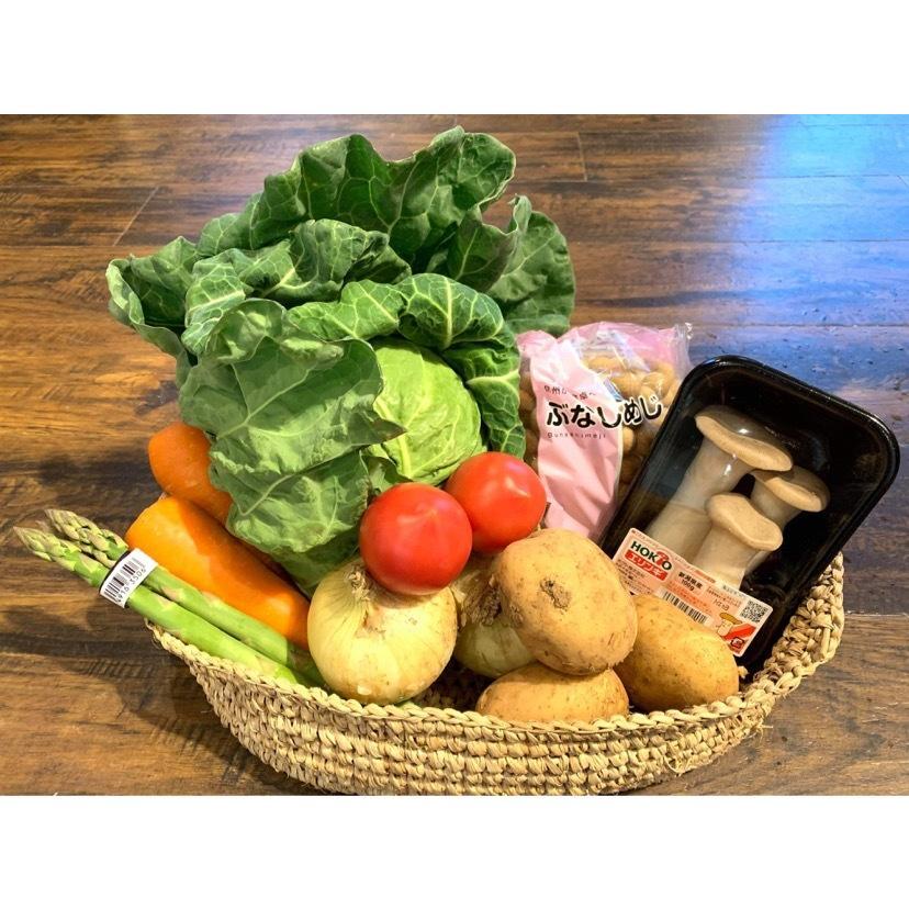 「新潟ウチごはんプレミアム」おすすめ野菜入り 野菜セット 詰め合わせ 8品目 お好みで追加可能|vegetable-fruit-igh