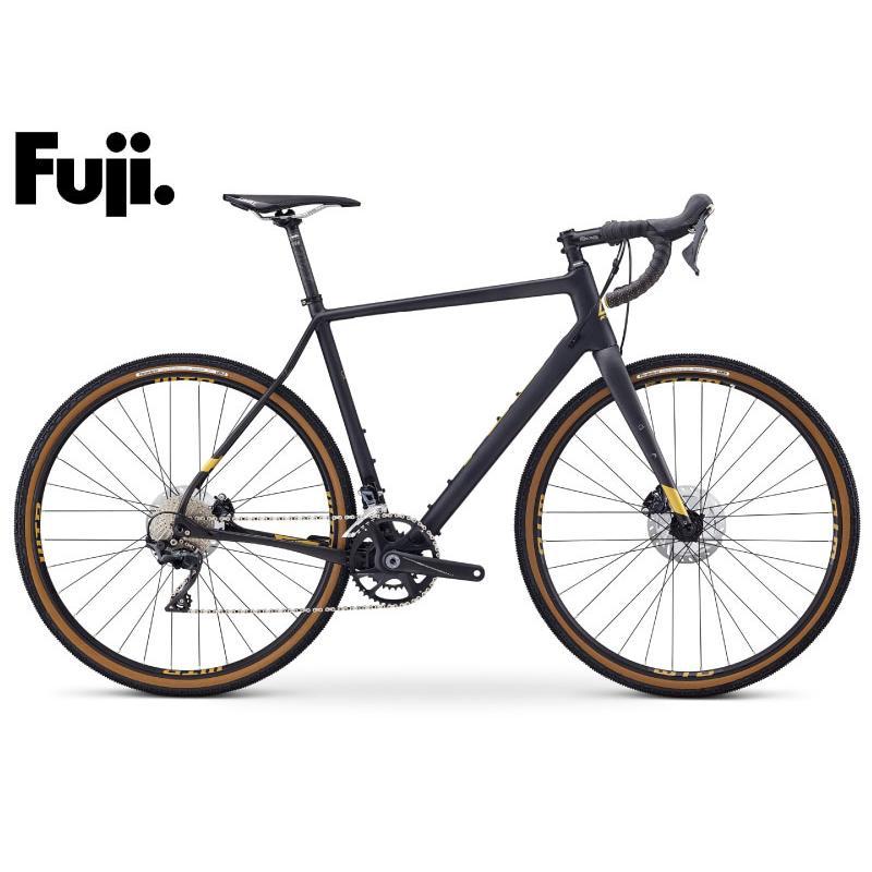 (選べる特典付き!)アドベンチャー ロードバイク 2021 FUJI フジ JARI CARBON 1.1 ジャリカーボン1.1 マットカーボン SHIMANO ULTEGRA 22段変速 700C カーボン