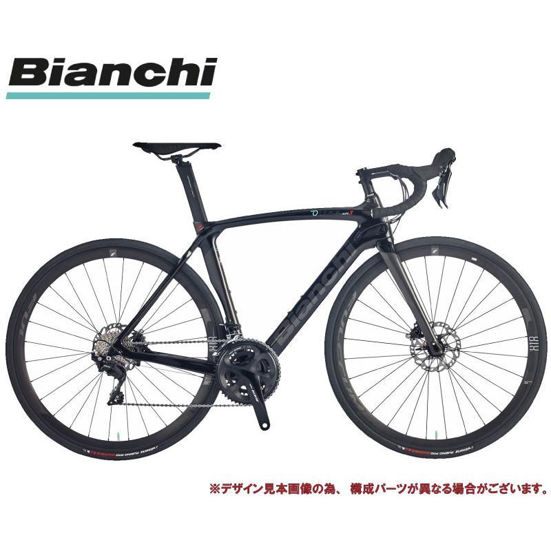 ロードバイク 2021 BIANCHI ビアンキ OLTRE XR3 DISC SHIMANO 105 オルトレXR3 ディスク シマノ 105 BLACK/GRAPHITE(2R) 2×11SP 700C CARBON