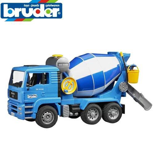 (正規販売店)  MAN セメントミキサー車 02744  bruder ブルーダー