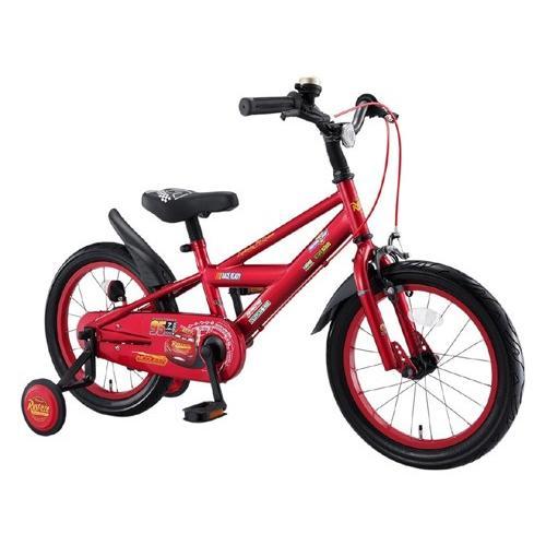 アイデス カーズ3自転車 16インチ レッド(完成品)+今なら自転車カバープレゼント ides