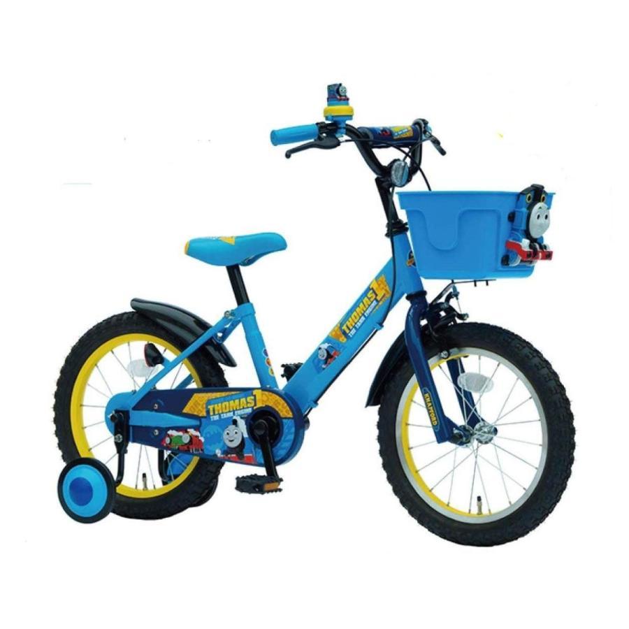きかんしゃトーマス 16インチ 16型(完成品)+今なら、自転車カバープレゼント 上尾工業