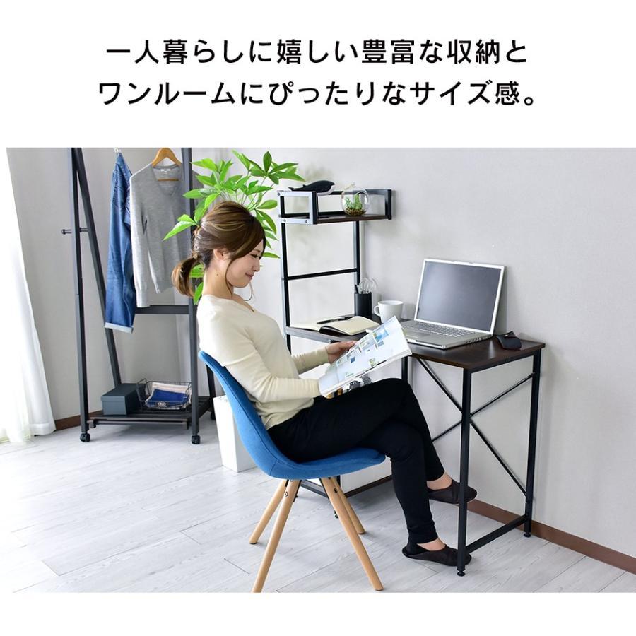 デスク おしゃれ ゲーミング 収納 棚 机 つくえ ワーク パソコン オフィス oa 書斎 マナコ 北欧 velle 04
