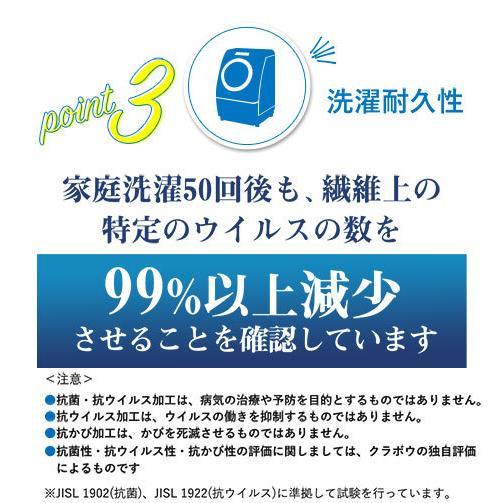 2枚セット 数量限定 クレンゼ 抗ウイルスストール ウィルスト 日本製 抗菌 ミニクロス付き マルチクロス ギフト包装無料|venex|10