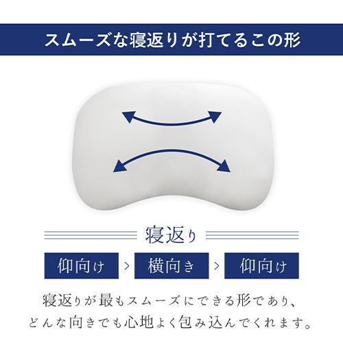 ジムナストソフトフィール 枕 送料無料 まくら 洗える 日本製 高さ調節 首こり 肩こり いびき パイプ|venex|06